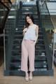 ชื่อสินค้า : Dotty layer top เสื้อแขนกุด ซีทรูที่ช่วงไหล่ ช่วงตัวเป็นลายจุด ดีเทลเป็นระบาย 2 ชั้น สาวๆสามารถใส่ได้ทั้งข้างนอกและข้างในกางเกง หรือกระโปรง  สี : ขาว white / กรม navy / ดำ black  #เสื้อผ้าผู้หญิง #เสื้อผู้หญิง #เสื้อแขนกุด