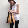 "Basic bag Dimension: Width x Height x Base 14"" x 11"" x 3""  #bag #bags #canvasbag #minimalbag #tophandle #tophandlebag #handbag #madetoorder #กระเป๋า #กระเป๋าผู้หญิง #กระเป๋าผ้า #กระเป๋าถือ"
