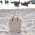 "Top handle bag Dimension: Width x Height x Base (S) 10"" x 9.5"" x 5"" (M) 10"" x 12"" x 5""  #handbag #bag #canvas #lapindesign #tophandlebag #chic #fashion #street #leather #madetoorder #กระเป๋า #กระเป๋าผ้า #กระเป๋าสะพาย #กระเป๋าถือ #กระเป๋าผู้หญิง"