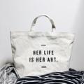 "Canvas bag Size : L Dimension: Width x Height x Base 19"" x 13"" x 6""  #bag #thankyou #canvas #handbag #กระเป๋า #custom #custommade #customdesign"