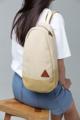 กระเป๋า Rustic Canvas Mini Shoulder Bag  Mini Shoulder Bag design for Active lifestyle use.  กระเป๋าที่ออกแบบสำหรับการใช้งานแบบสะพายเฉียงเพื่อความคล่องตัว สะดวกในการพกพาสำหรับผู้ใช้งานที่มี Life Style ที่ Active ไม่ชอบพกกระเป๋าใบใหญ่ หรือชอบปั่นจักรยาน มีช่องเล็กสำหรับเก็บของด้านข้าง ช่องแบ่งพื้นที่ภายในกระเป๋า และช่องซิปด้านหน้า จึงจุของได้มากและหลากหลาย ตัดเย็บด้วยผ้าแคนวาสเนื้อดีทนทาน  สายกระเป๋าเทปผ้าดิบปรับเลื่อนความยาวได้ตามความต้องการ  PRODUCT SPECIFICATIONS  size : W21 x H35 x D10 cm. material : Rough Canvas 18 oz (outside), Canvas 12 oz (inside), Natural Fabric Tape weight : 350 g. Color : ครีม เขียวมะกอก แดง ดำ น้ำเงิน  แหล่งผลิตสินค้า / วิธีการผลิตสินค้ากระเป๋างานทำมือผลิตในประเทศไทย จังหวัดเชียงใหม่  #กระเป๋า #กระเป๋าผ้า #กระเป๋าสะพาย #กระเป๋าเป้