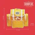 ชื่อสินค้า : Troopers Original Yellow กระเป๋าเป้ สำหรับนักเดินทาง ใครว่าต้องใบใหญ่เทอะทะ เดี๋ยวนี้เขาเน้นใบขนาดพอดีที่ตอบโจทย์การใช้งานกันมากกว่า เนื้อผ้าเป็นผ้าร่มชนิดหนา สามารถกันฝนได้ นอกจากจะเหมาะกับการใช้เดินทางแล้ว ยังสามารถใช้เป็นกระเป๋าเป้เก๋ๆ ในชีวิตประจำวันได้อีกด้วย คุ้มสุดๆไปเลย แบบนี้ไม่มีไม่ได้แล้ว  สี : เหลือง Yellow  #กระเป๋า #กระเป๋าเป้ #กระเป๋าเดินทาง #กระเป๋าสะพาย