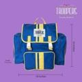 ชื่อสินค้า : Troopers Plus Blue/Yellow กระเป๋าเป้ สำหรับนักเดินทาง ใครว่าต้องใบใหญ่เทอะทะ เดี๋ยวนี้เขาเน้นใบขนาดพอดีที่ตอบโจทย์การใช้งานกันมากกว่า เนื้อผ้าเป็นผ้าร่มชนิดหนา สามารถกันฝนได้ นอกจากจะเหมาะกับการใช้เดินทางแล้ว ยังสามารถใช้เป็นกระเป๋าเป้เก๋ๆ ในชีวิตประจำวันได้อีกด้วย คุ้มสุดๆไปเลย แบบนี้ไม่มีไม่ได้แล้ว  สี : น้ำเงิน blue เส้น เหลือง yellow  #กระเป๋า #กระเป๋าเป้ #กระเป๋าเดินทาง #กระเป๋าสะพาย