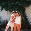 """ชื่อสินค้า : ruffle halter top freesize Bust 35-36"""" linen100% สี : ขาว / ส้ม  #เสื้อผ้าผู้หญิง #เสื้อผู้หญิง #เสื้อสายเดี่ยว #สายเดี่ยว"""