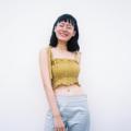 """ชื่อสินค้า : Smocked Camisole Product Details Freesize Bust 35 """" Fabric : Linen100% สี : เหลือง  #เสื้อผ้าผู้หญิง #เสื้อผู้หญิง #เสื้อสายเดี่ยว #สายเดี่ยว"""