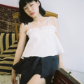 ชื่อสินค้า : Ruffle Camisole Free size  Fabric : Linen สี : ขาว , เขียว  #เสื้อผ้าผู้หญิง #เสื้อผู้หญิง #เสื้อสายเดี่ยว #สายเดี่ยว