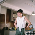 """ชื่อสินค้า : Ruffle Sleeveless Crop Top (White) freesize Bust 35-36 """"  lenght16"""" colors : ขาว white  #เสื้อผ้าผู้หญิง #เสื้อผู้หญิง #เสื้อแขนกุด"""
