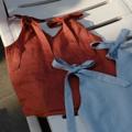 "3 colors : blue/navy/tangerine  Fabric : Linen  Freesize  Bust 36"" Length 20""  #เสื้อผู้หญิง #เสื้อผ้าผู้หญิง #เสื้อสายเดี่ยว #สายเดี่ยว #เสื้อผูกไหล่ #ผูกไหล่ #เสื้อคอวี #คอวี"