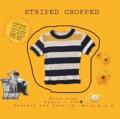 """ชื่อสินค้า : Striped cropped เสื้อครอป แขนสั้น เข้ารูป ลายทางที่สาวๆเห็นเป็นต้องเลิฟแน่นอน  รอบอก ยืดได้ถึง 40"""" ยาว 17""""  สี : ขาว - ดำ + เหลือง  #เสื้อผ้าผู้หญิง #เสื้อผู้หญิง #เสื้อครอป #เสื้อครอปแขนสั้น"""