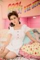"Darling Dress(1190-) Onesize : อก 32"" เอว 26"" สะโพก Free ยาว 31"" Color : ขาว White  #เสื้อผ้าผู้หญิง #เดรส #เดรสสั้น #เดรสสั้นแขนสั้น #เดรสแขนสั้น"