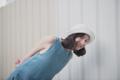 MAILLOT CLOTHING - VERBENA - material : Linen สี : ฟ้า Oceanblue  #เดรส #เดรสยาว#เดรสแขนกุด #เดรสเว้าหลัง #เว้าหลัง