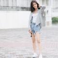 """เสื้อเชิ้ตลินินแขนยาว สีเทา Fabric : Linen Color : เทา Gray Chest : 41"""" Arm : 23"""" Length (Front) : 25.5"""" Length (Back) : 27"""" Detail :  - Chest pocket  - Casual and comfortable to wear  - Made in THAILAND - Model Height : 170 cm.  Hand Washing linen clothes is recommendedTo properly hand-wash linen, place it in a clean sink with cool water and mild detergent. Gently agitate the clothing items, only use a gentle swishing motion – never wring, twist or scrub the fabric, then remove from the soapy water. Drain the soapy water, rinse the sink and refill with cool water.  #เสื้อผ้าผู้หญิง #เสื้อผู้หญิง #เสื้อเชิ้ต #เสื้อเชิ้ตผู้หญิง #เสื้อเชิ้ตแขนยาว #เสื้อแขนยาว"""