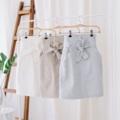 Skirt : #pkwaffleskirt Color : white , brown , blue  Price : 890 THB. (*price doesn't include ship) . Size  S : waist 25-26 hip 35-36 length 21 M : waist 27-28 hip 37-38 length 22 L :  waist 29-30 hip 39-40 length 22 . กระโปรงตัวนี้ recommends เลยค่ะ น่ารักมากๆ กระโปรงเอวสูงทรงสอบมีกระเป๋าข้าง และยังมีไอเทมน่ารักๆ คือมีผ้าผูกเอวสามารถลดเพิ่มเอวได้ ร้อยเข้าหูกระโปรงได้เลย ผ้าที่เราเลือกเป็นผ้า Japanese Linen ทอ น่ารักมากๆ ใส่ทำงาน ไปเที่ยวจะได้สอใสนะคะ  #กระโปรง #กระโปรงสั้น #กระโปรงทรงสอบ