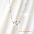Neverland is not so far | wear Pixie Dust necklace and go away with us👼💞 . สร้อยคอ Pixie Dust มี2แบบนะคะ ตามรูปเลย ทั้งสองแบบประดับเพชรCZตรงกลาง และ ที่สายสร้อย กำลังน่ารักเลย ☆ White gold ☆ Rose gold ราคา1,290 บาทเท่านั้น (จัดส่งฟรีKerryค่า)  #tinkerbell #lidajewelry