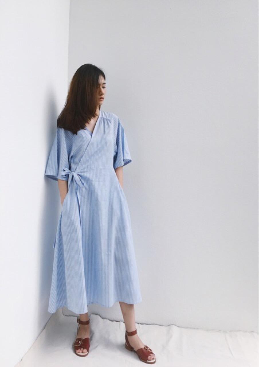 เสื้อผ้าผู้หญิง,เดรส,เดรสยาว,เดรสแขนยาว,เดรสยาวแขนยาว