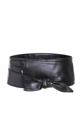 """:: เข็มขัด Kimino Wrap Belt ::  รายละเอียดสินค้า + ขนาด :  ความกว้างของสายเข็มขัด : 10.0 cm ความยาวของสายเข็มขัด : 220.0 cm + โทนสี : ดำ + ราคา : 380 บาท  . . . . . . . . . . . . . . . . . . . . . . . . . . . . . . . . . .   คำอธิบายสินค้า (Description)  """"เข็มขัดผู้หญิง ดีไซน์ใหม่จากต่างประเทศ สายทำจากวัสดุ PU เนื้อนุ่ม อย่างดี ใช้พันรอบเอวแล้วร้อยสายผ่านรูเพื่อมาผูกกับสายอีกข้างหนึ่ง ช่วยทำให้มองเห็นส่วนเว้าส่วนโค้งของเอวและสะโพกได้ดีขึ้น เพิ่มสเน่ห์ในตัวคุณ เหมาะกับวัยรุ่น นิสิต นักศึกษา วัยทำงาน"""