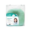 หมอนอเนกประสงค์ รุ่น H-15 / Multi Pillow  หมอนอเนกประสงค์ หรือ Multi Pillow หมอนที่จะช่วยให้คุณ นั่งหรือนอน ได้ในทุกๆอิริยาบถ สามารถปรับใช้ได้ตามความต้องการ ผลิตจาก โฟมไมโครบีท ทำให้สามารถรับแรงกดทับได้ดี ไม่เก็บฝุ่น และยังระบายอากาศได้ดีอีกด้วย  คุณสมบัติ ช่วยลดแรงกดทับ นั่งถูกหลักสรีระ เม็ดโฟมไมโครบีท เล็กละเอียด รองรับทุกการเคลื่อนไหว ระบายอากาศได้ดี ปรับใช้ได้ทุกท่าทางการนั่งและนอน  เหมาะสำหรับ: ทุกพศทุกวัย วิธีใช้: ใช้รองหลังและรองนั่ง Material:  โฟมไมโครบีท รับแรงกดทับ ไม่เก็บฝุ่น ระบายอากาศได้ดี  Weight: 542 กรัม Dimension: 35*31*10 cm.