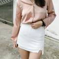 """ชื่อสินค้า : Basic High Waist Skirts (White) กางเกงกระโปรงเอวสูง เนื้อผ้าดีไม่บาง ใส่แมทช์เสื้อผ้าได้หลายแบบ ใครชอบกางเกงขาสั้นสีพื้นเรียบๆแนะนำเลย  ขนาด: M เอว - 27"""" สะโพก - 37"""" ยาว - 14"""" สี : ขาว White  *สินค้าทางร้านถ่ายเอง*  #กระโปรง #กระโปรงสั้น #กระโปรงเอวสูง #miniskirt"""