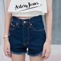 """Collection : V-Shape Colors : สีเข้ม Sizes : S M L XL  Size : S M L XL ⠀S : 24-25""""/32-33"""" ⠀M : 26-27""""/34-35"""" ⠀L : 28-29""""/36-37"""" XL : 30-31""""/38-39""""  #reviewforarteryjeans   #กางเกง #กางเกงผู้หญิง #กางเกงขาสั้น #กางเกงยีนส์ #กางเกงยีนส์ขาสั้น #กางเกงผู้หญิงขาสั้น #กางเกงขาสั้นผู้หญิง"""