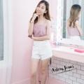 "Collection : V-Shape Colors : สีขาว Sizes : S M L XL  Size : S M L XL ⠀S : 24-25""/32-33"" ⠀M : 26-27""/34-35"" ⠀L : 28-29""/36-37"" XL : 30-31""/38-39""  #reviewforarteryjeans   #กางเกง #กางเกงผู้หญิง #กางเกงขาสั้น #กางเกงยีนส์ #กางเกงยีนส์ขาสั้น #กางเกงผู้หญิงขาสั้น #กางเกงขาสั้นผู้หญิง"
