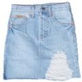 "Collection : Denim Skirt Colors : Light Blue ( สีซีด ) Sizes : S M L  Size : S M L ( วัดเป็นนิ้ว ) ⠀S : 24"" สะโพก 33"" ยาว 16"" ความกว้างขา 34"" ⠀M : 27"" สะโพก 35"" ยาว 16"" ความกว้างขา 36"" ⠀L : 29"" สะโพก 36"" ยาว 16"" ความกว้างขา 38""  #กางเกง #กางเกงผู้หญิง #กางเกงขาสั้น #กางเกงยีนส์ #กางเกงยีนส์ขาสั้น #กางเกงผู้หญิงขาสั้น #กางเกงขาสั้นผู้หญิง #กระโปรงยีนส์"