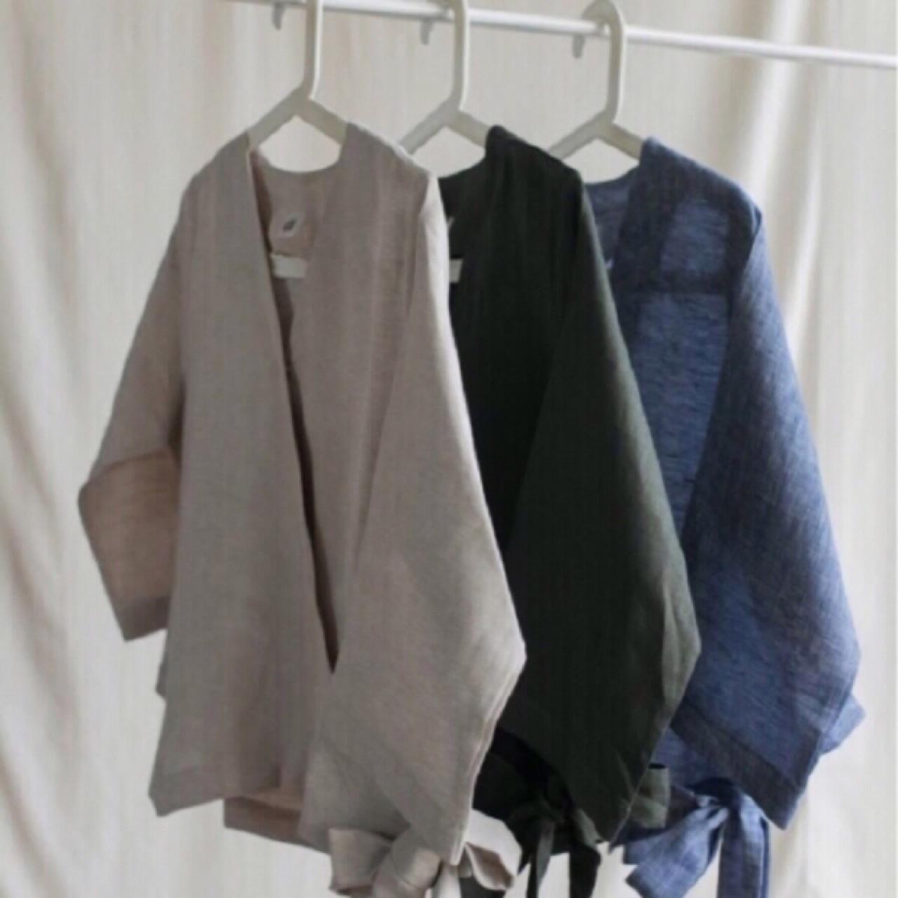 เสื้อผ้าผู้หญิง,เสื้อผู้หญิง,เสื้อแขนยาว,เสื้อผูกเอว,ผูกเอว,เสื้อคอวี