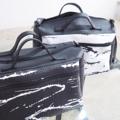 กระเป๋าสะพายใบใหญ่ แบบ Unisex bag น้ำหนักเบา สไตล์ลุยๆ    Size : W33 * H22 * D15 cm.  Shoulder strap : 105 cm.  Made of : PU&PVC Color : ดำ Black Detail : 1 ช่องซิปใหญ่ด้านหน้ากระเป๋า / 1 ช่องซิปขนาดกลางด้านหลังกระเป๋า / 1 ช่องซิปกลางกระเป๋า / 1 ซ่องซิปเล็กด้านในกระเป๋า / หมุดรองที่ก้นกระเป๋า  #กระเป๋า #กระเป๋าสะพาย #กระเป๋าผู้หญิง #กระเป๋าถือ