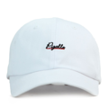 """""""This soft baseball cap features an embroidered underlined """"""""Pigalle"""""""" letter at front and an """"""""XIIAM"""""""" letter at wearer's back side. Interior includes printed taping and a moisture absorbing sweatband. The six panel construction features breathable eyelets with a curved visor and button at top. Open back has an adjustable strapback.   - Style: Curved visor strapback - Material: Made of 100% Cotton - Color: White - Size: 56.5~58.5 cm Adult free (Strap adjustable) - Feature: NONAME Pigalle ballcap. - Country of manufacture: Made in VIETNAM - Have a closure behind to increase/decrease size.  Notes: Due to the light and screen setting difference, the item's color may be slightly different from the pictures. Please allow slight dimension difference due to different manual measurement."""""""