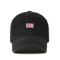 """""""This washing baseball cap features a tiny 2D embroidered USA patch at front, a stitched flipper at wearer's back side. Interior includes printed taping and a moisture absorbing sweatband. The six panel construction features breathable eyelets with a curved visor and button at top. Open back has an adjustable strapback.   - Style: Curved visor baseball cap - Material: Made of 100% 14""""""""Twill - Color: Black - Size: 56.5~58.5 cm Adult free (Strap adjustable) - Feature: Flipper Washing USA ballcap - Country of manufacture: Made in VIETNAM - Have a closure behind to increase/decrease size. Black  Notes: Due to the light and screen setting difference, the item's color may be slightly different from the pictures. Please allow slight dimension difference due to different manual measurement."""""""