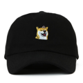 """""""This Strapback cap features an cute embroidered FLOWER HACHIKO at front, a stitched flipper at wearer's back side. Interior includes printed taping and a moisture absorbing sweatband. The six panel construction features breathable eyelets with a curved visor and button at top. Open back has an adjustable strapback.   - Style: Curved visor strapback ballcap - Material: Made of 100% Cotton - Color: Black - Size: 56.5~58.5 cm Adult free (Strap adjustable) - Feature: Flipper FLOWER HACHIKO ballcap - Country of manufacture: Made in VIETNAM - Have a closure behind to increase/decrease size.  Notes: Due to the light and screen setting difference, the item's color may be slightly different from the pictures. Please allow slight dimension difference due to different manual measurement."""""""