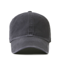"""""""This washing baseball cap features a basic plain cap, a stitched flipper at wearer's back side. Interior includes printed taping and a moisture absorbing sweatband. The six panel construction features breathable eyelets with a curved visor and button at top. Open back has an adjustable strapback.   - Style: Curved visor baseball cap - Material: Made of 100% 14""""""""Twill - Color: Charcoal - Size: 56.5~58.5 cm Adult free (Strap adjustable) - Feature: Flipper Washing blank ballcap - Country of manufacture: Made in VIETNAM - Have a closure behind to increase/decrease size. Charcoal  Notes: Due to the light and screen setting difference, the item's color may be slightly different from the pictures. Please allow slight dimension difference due to different manual measurement."""""""