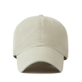 """""""This washing baseball cap features a basic plain cap, a stitched flipper at wearer's back side. Interior includes printed taping and a moisture absorbing sweatband. The six panel construction features breathable eyelets with a curved visor and button at top. Open back has an adjustable strapback.   - Style: Curved visor baseball cap - Material: Made of 100% 14""""""""Twill - Color: Beige - Size: 56.5~58.5 cm Adult free (Strap adjustable) - Feature: Flipper Washing blank ballcap - Country of manufacture: Made in VIETNAM - Have a closure behind to increase/decrease size. Beige  Notes: Due to the light and screen setting difference, the item's color may be slightly different from the pictures. Please allow slight dimension difference due to different manual measurement."""""""