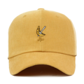 """This Strapback cap features a cute yellow embroidered banana at front, a stitched flipper at wearer's back side. Interior includes printed taping and a moisture absorbing sweatband. The six panel construction features breathable eyelets with a curved visor and button at top. Open back has an adjustable strapback.   - Style: Curved visor strapback ballcap - Material: Made of 100% Cotton - Color: Yellow - Size: 56.5~58.5 cm Adult free (Strap adjustable) - Feature: Flipper coloful ballcap - Country of manufacture: Made in VIETNAM - Have a closure behind to increase/decrease size.  Notes: Due to the light and screen setting difference, the item's color may be slightly different from the pictures. Please allow slight dimension difference due to different manual measurement."""