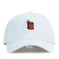 """This Baseball cap features an embroidered Cigar at front and a stitched PREMIER at wearer's back side. Interior includes printed taping and a moisture absorbing sweatband. The six panel construction features breathable eyelets with a curved visor and button at top. Open back has an adjustable strapback.   - Style: Curved visor baseball cap - Material: Made of 100% Cotton - Color: White - Size: 56.5~58.5 cm Adult free (Strap adjustable) - Feature: PREMIER Cigar ballcap. - Country of manufacture: Made in VIETNAM - Have a closure behind to increase/decrease size.  Notes: Due to the light and screen setting difference, the item's color may be slightly different from the pictures. Please allow slight dimension difference due to different manual measurement."""