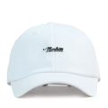 """""""This soft baseball cap features an embroidered underlined """"""""Marlette"""""""" letter at front and an """"""""XIIAM"""""""" letter at wearer's back side. Interior includes printed taping and a moisture absorbing sweatband. The six panel construction features breathable eyelets with a curved visor and button at top. Open back has an adjustable strapback.   - Style: Curved visor strapback - Material: Made of 100% Cotton - Color: White - Size: 56.5~58.5 cm Adult free (Strap adjustable) - Feature: NONAME Marlette ballcap. - Country of manufacture: Made in VIETNAM - Have a closure behind to increase/decrease size.  Notes: Due to the light and screen setting difference, the item's color may be slightly different from the pictures. Please allow slight dimension difference due to different manual measurement."""""""