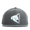 """This Snapback cap features a rubber ISWEAR symbol piece at front, a stitched flipper at wearer's back side. Interior includes printed taping and a moisture absorbing sweatband. The six panel construction features breathable eyelets with a flatted  visor and button at top. Open back has an adjustable snapback.   - Style: Flat visor snapback cap - Material: Made of Acrylic wool - Color: Charcoal - Size: 56.5~58.5 cm Adult free (Snap adjustable) - Feature: Flipper rubber ISWEAR snapback - Country of manufacture: Made in VIETNAM - Have a closure behind to increase/decrease size.  Notes: Due to the light and screen setting difference, the item's color may be slightly different from the pictures. Please allow slight dimension difference due to different manual measurement."""