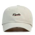 """""""This soft baseball cap features an embroidered underlined """"""""Pigalle"""""""" letter at front and an """"""""XIIAM"""""""" letter at wearer's back side. Interior includes printed taping and a moisture absorbing sweatband. The six panel construction features breathable eyelets with a curved visor and button at top. Open back has an adjustable strapback.   - Style: Curved visor strapback - Material: Made of 100% Cotton - Color: Putty - Size: 56.5~58.5 cm Adult free (Strap adjustable) - Feature: NONAME Pigalle ballcap. - Country of manufacture: Made in VIETNAM - Have a closure behind to increase/decrease size.  Notes: Due to the light and screen setting difference, the item's color may be slightly different from the pictures. Please allow slight dimension difference due to different manual measurement."""""""