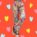 """ขนาด :  เอวยางยืด26"""" ยืดถึง 40""""  สะโพก 44""""  ยาว 38"""" สี : ชมพู pink ( colorful )  #กางเกง #กางเกงขายาว #กางเกงผู้หญิง #กางเกงขายาวผู้หญิง #กางเกงผู้หญิงขายาว"""