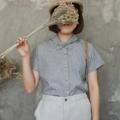 :: KUBI SHIRT :: ~ Cotton x Linen ~ Free Size ~ Chest width : 43 inches ~ Length : 23.5 inches ~ Shoulder Line : seamless ~ 690THB. ~ Color : ดำ Black  #เสื้อผ้าผู้หญิง #เสื้อผู้หญิง #เสื้อเชิ้ต #เสื้อเชิ้ตผู้หญิง #เสื้อเชิ้ตแขนสั้น #เสื้อแขนสั้น