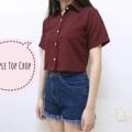 """ชื่อสินค้า : SIMPLE TOP CROP เสื้อเชิ้ตครอป แขนสั้น มีกระเป๋าเสื้อตรงอกซ้าย Colour: แดง , เหลือง Size: รอบอก 33""""-34"""" ยาว 17"""" Price: 350 บาท  -------------------------------------------------------------- Line ID: definne.u หรือ Click http://line.me/ti/p/@vsl0295f IG: @definne.u Facebook: https://www.facebook.com/definne.u  #Top #Shirt #Crop #FashionTrend #StreetStyle #StreetWear #Simple #KoreanFashion #Minimal #Lookbook #Closet #เสื้อเชิ้ตตัวสั้น #เสื้อเชิ้ตแขนสั้น #เสื้อเชิ้อตครอป #สินค้าพร้อมส่ง #พร้อมส่ง #เสื้อผ้าแฟชั่น #DefinneU #ShopSpot #Wardrobe #เสื้อครอป #เสื้อครอปแขนสั้น #เสื้อผ้าผู้หญิง #เสื้อผู้หญิง"""