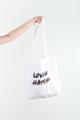 Limited for valentine 2018! กระเป๋าผ้า ต้อนรับ วันวาเลนไทน์ ทำมาเพื่อการนี้เลยนะจ๊ะ รีบจับจองเป็นเจ้าของ จะใช้เป็นคู่ หรือเดี่ยวก็ได้นะ  สี : ขาว white  #กระเป๋า #กระเป๋าผ้า #กระเป๋าสะพาย