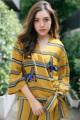 "🌼Mustard striped kimono เสื้อกิโมโนสั้น สีเหลืองมัสตาร์ด เนื้อผ้าดีทิ้งตัวมากๆ มีความหนาพอให้ใส่สวยอยู่ทรง ด้านในผูกสาย ด้านนอกผูกโบว์ด้านข้าง งานปักช่วงอกอย่างดี ใช้ของดีแวววาวดูแพง ใส่แบบโอเวอร์ไซส์แบบชิดๆ ใส่คู่กับยีนส์สั้นหรือกางเกงขายาวเก๋ๆก็ได้น้าา recommend ก้า! **ภาพถ่ายของทางร้าน เหมือนตามภาพ100%ก้า** . size: freesize ไหล่ 40"" อก 46"" ช่วงเอว 38""++  price: 590.- สี : เหลือง  #เสื้อผ้าผู้หญิง #เสื้อผู้หญิง #เสื้อแขนยาว"