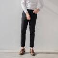 Black - Checked trousers  Color : ดำ Black size : S ,M ,L  price : 1,590 THB   #grounderbkk #กางเกง #กางเกงขายาว #กางเกงผู้ชาย #กางเกงขายาวผู้ชาย #กางเกงผู้ชายขายาว