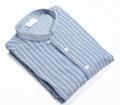 Blue Stripe - mao collar shirt material : cotton fabric  size : S M L price : 1,290 THB color : ฟ้า Blue Stripe  #เสื้อผ้าผู้ชาย #เสื้อผู้ชาย #เสื้อเชิ้ต #เสื้อเชิ้ตแขนยาว #เสื้อเชิ้ตผู้ชาย