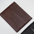 Classic card holder Length : 10 cm Width : 8 cm Color : ดำ black / น้ำตาล brown  price : 290 THB  _  Details Leather credit card holder six card slots , multiple card slots  _________________  #grounderbkk #กระเป๋า #ซองใส่บัตร