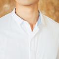 White - mini inside blue collar shirt  color : ขาว white material : cotton oxford price : 1,090 THB  #เสื้อผ้าผู้ชาย #เสื้อผู้ชาย #เสื้อเชิ้ต #เสื้อเชิ้ตแขนยาว #เสื้อเชิ้ตผู้ชาย