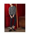 Black - Striped sweater  color : ดำ black  price : 1,190 THB   #grounderbkk #เสื้อกันหนาว #เสื้อแขนยาว #เสื้อกันหนาว