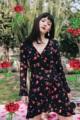 """💋💋💋 Lolita dress (1590-) ผ้าเรยอน นิ่มสบาย S อก 32"""" เอว 26"""" สะโพก 36"""" ยาว 34""""  M อก 34"""" เอว 28"""" สะโพก 38"""" ยาว 35""""  #เสื้อผ้าผู้หญิง #เดรส #เดรสสั้น #เดรสสั้นแขนยาว"""