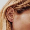 ต่างหูหมุด กลมเงินแท้ สำหรับคนแพ้ง่าย