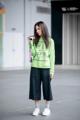 "Fabric : French Terry Cotton Color : เขียว Neon Green Chest : 43"" Length : 22"" Length (Arm) : 25""  Detail :  - Sweatshirts, made from French Terry Cotton - ย้อม ด้วยสีพิเศษ สีไม่ตก - หนากว่าเสื้อยืด, แต่ บางกว่าเสื้อหนาว ทำให้ mix & match หรือ ใส่แบบ layering ได้ - สวมใส่สบาย  #เสื้อผ้าผู้หญิง #เสื้อผู้หญิง #เสื้อยืด #เสื้อยืดผู้หญิง #เสื้อยืดคอกลม #เสื้อยืดแขนยาว #เสื้อคอกลม #เสื้อแขนยาว"